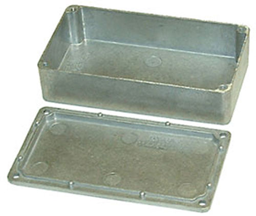 4.49in X 2.52in X 1.18in Die Cast Aluminum Box   16284