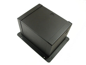 Procraft Pro Audio Recessed Pocket Floor Box.10 D Mount Openings and 1 AC Duplex