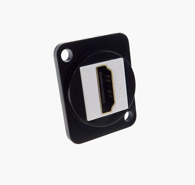 Panel Mount D type XLR HDMI metal connector Only 5/8