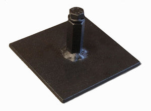 "Procraft 4"" Floor Plate Par Can Uplight Base       BP-4-B"