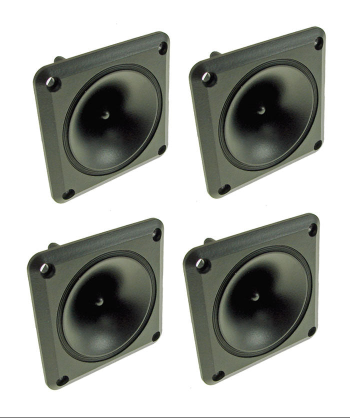 4 Pack ProCraft LH311 50 watt RMS - Piezo Tweeters New! Replacement