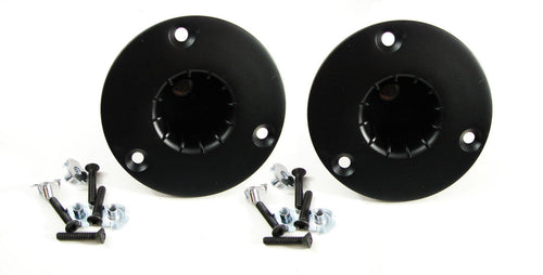 2 Pack Penn Elcom M1557/M20 Threaded Pole Mount W/Hardware(Stand Cup or Top Hat)