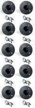 Load image into Gallery viewer, 10 Pack Penn Elcom M1551 Steel Pole Mount W/Hardware - Stand Cup - Top Hat