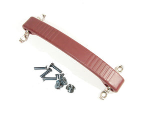 Red Rubber Amp Strap Handle Fender DogBone Style Replacement w/ Hardware 0394RED