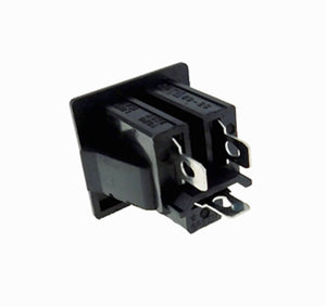 4 pack AC Outlet, NEMA 5-15R, 3 Wire 15A, Snap-in    32041