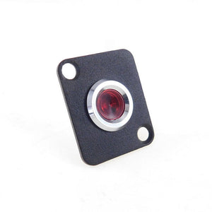 Procraft D-Plate With 12mm 115v LED Indicator Lamp Red   D-12ZsD.A.L-115-R