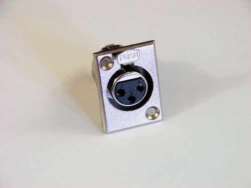 Panel Mount Female XLR JA131
