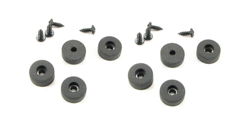 8 Pack Rubber Feet - Bumpers 5/8