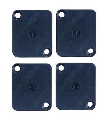 4 Pack Neutrik DBA Dummy Plate for