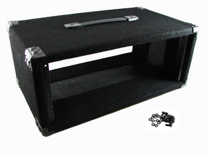 "Procraft 4U 12"" Deep Equipment Rack 4 Space - Made in the USA - With Rack Screws"