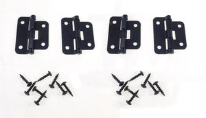 4 Geniune Penn Elcom P0625K Black Take-Apart /2 Piece Lift Off Hinge W/ Screws