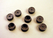 "Load image into Gallery viewer, 8 Pack 9/16"" Expandable Black Plastic Grommets PG562BKX8"