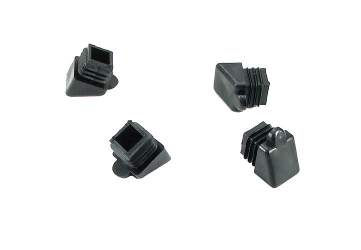 4 Pack Angled Type Furniture Glides 3/4