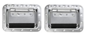 "2 Pack Large Heavy Duty Recessed Handle-7"" X 5"" X 5/8"" - Zinc Plated Finish 0520"