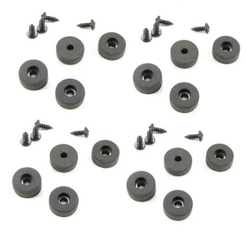 16 Pack Procraft Rubber Feet - Bumpers 5/8