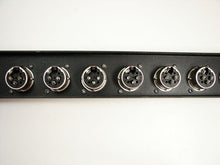 Load image into Gallery viewer, 1U Procraft 8 Channel Female XLR Rack Panel     AFP1U-8XF-BK