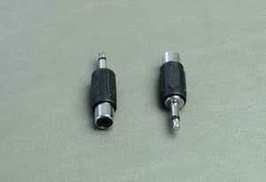 "2 Pack Female RCA to Male 1/8"" Adapters           AD112"