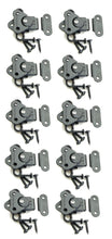 Load image into Gallery viewer, 10 Genuine Pack Penn Elcom 7365BK/0334BK Black Butterfly Latch/Keeper w/ Screws