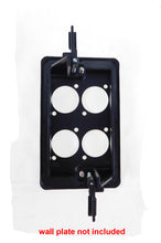Load image into Gallery viewer, Wall Plate Mounting Bracket 1 Gang Low Voltage AV Networking LY-022