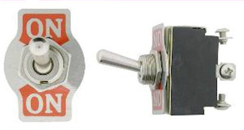 One Heavy Duty Full SizeToggle Switch SPDT On-On Part #SW114