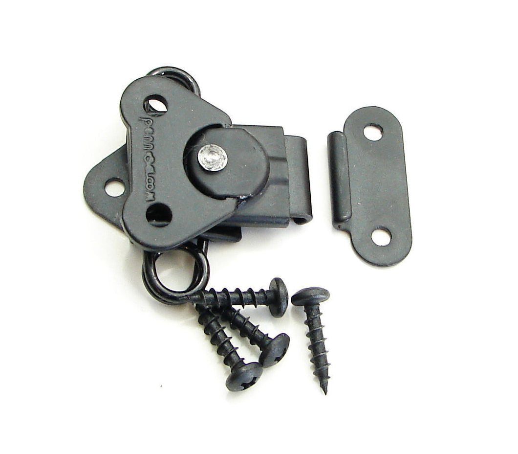 0Geniune NEW Penn Elcom 7365BK/0334BK Black Butterfly Latch & Keeper w/ Screws