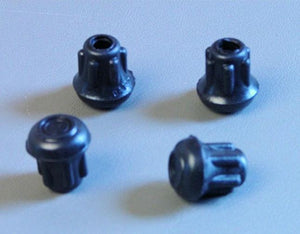 "4 Pack 1/2"" Rubber Tips- Cane, Crutch or Chair             CT-500-B"