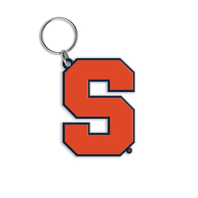 Wincraft Syracuse Block S Flex Key Ring