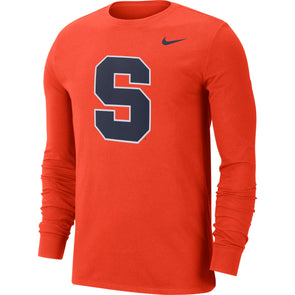 Nike Dri-Fit Cotton Logo Long Sleeve