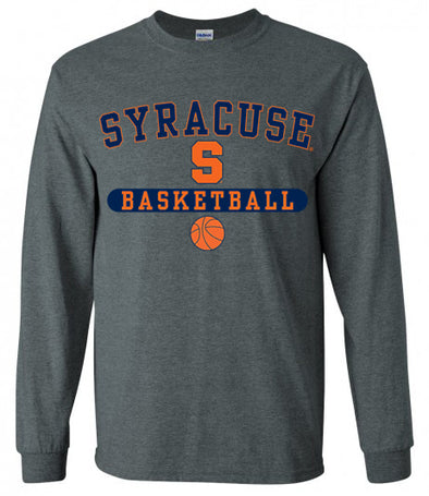 Syracuse Basketball Pill Long Sleeve