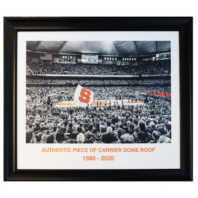 Authentic 20x24 Piece of Carrier Dome Roof of Basketball Game
