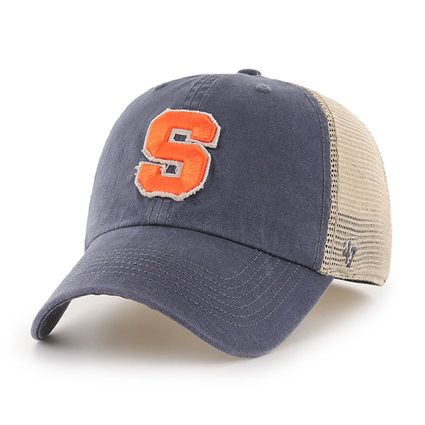e4eb3eb9 '47 Brand Fitted Trucker Hat – The Original Manny's - Syracuse Team Shop