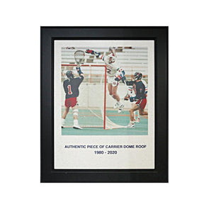 Syracuse University Authentic Air Gait Framed 11x14 Piece of Authentic Carrier Dome Roof