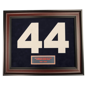 #44 Framed Collage with Authentic Carrier Dome Roof