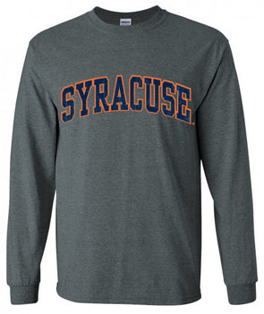 Distressed Syracuse Long Sleeve