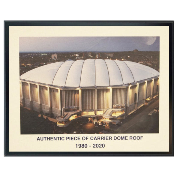 "Authentic 5x7 Dome Roof Plaque with ""Dome Image"""