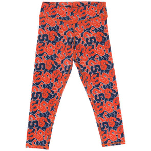 "Zoozatz Youth Stacked ""Block S"" Leggings"
