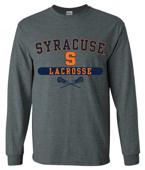 Syracuse Lacrosse Pill Long Sleeve