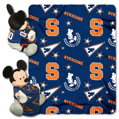 Northwest Syracuse Mickey Mouse Plush and Throw Blanket