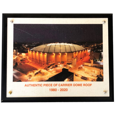 Authentic 8x10 Dome Roof Plaque With Night Time Image