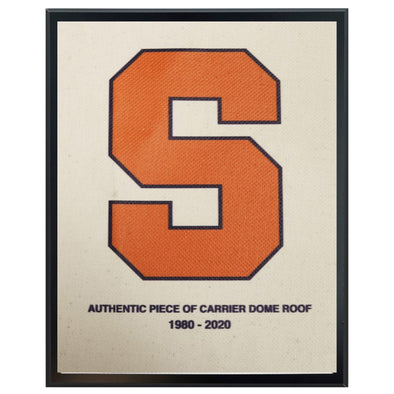 Authentic 5x7 Dome Roof Plaque with Block S Logo Imprinted