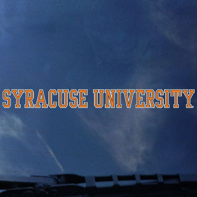 Syracuse University Decal