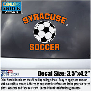 Syracuse Soccer Decal