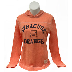"Retro Brand Womens Streaky ""Syracuse S Orange"" Hoodie"