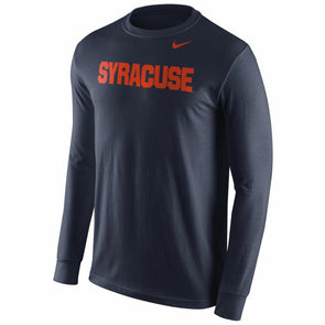 Nike Wordmark Cotton Long Sleeve