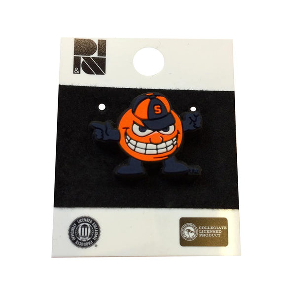 R&D Angry Otto Lapel Pin