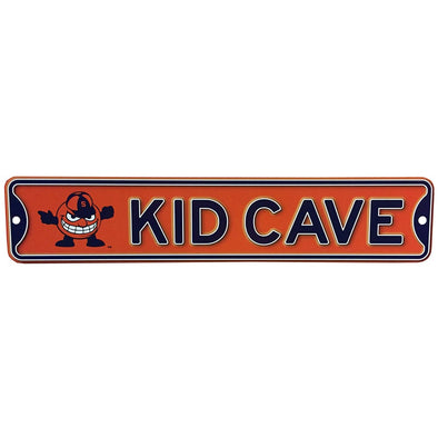 "Street Signs ""Kid Cave"" Sign"