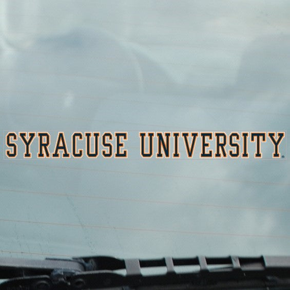 Xstatic Syracuse University Cling Decal