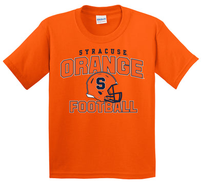 Youth Football Helmet T-Shirt