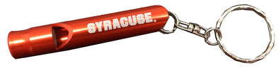 Syracuse Whistle Keychain