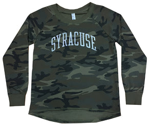 Alternative Women's Camo Long Sleeve